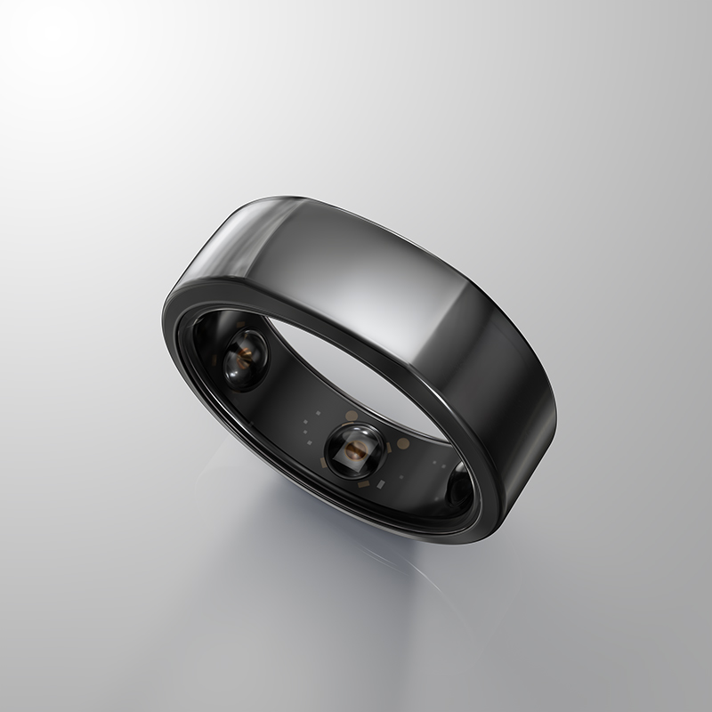 The Oura ring heritage black