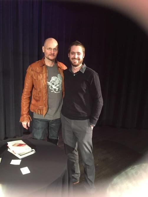 Trey Kauffman meeting Augusten Burroughs