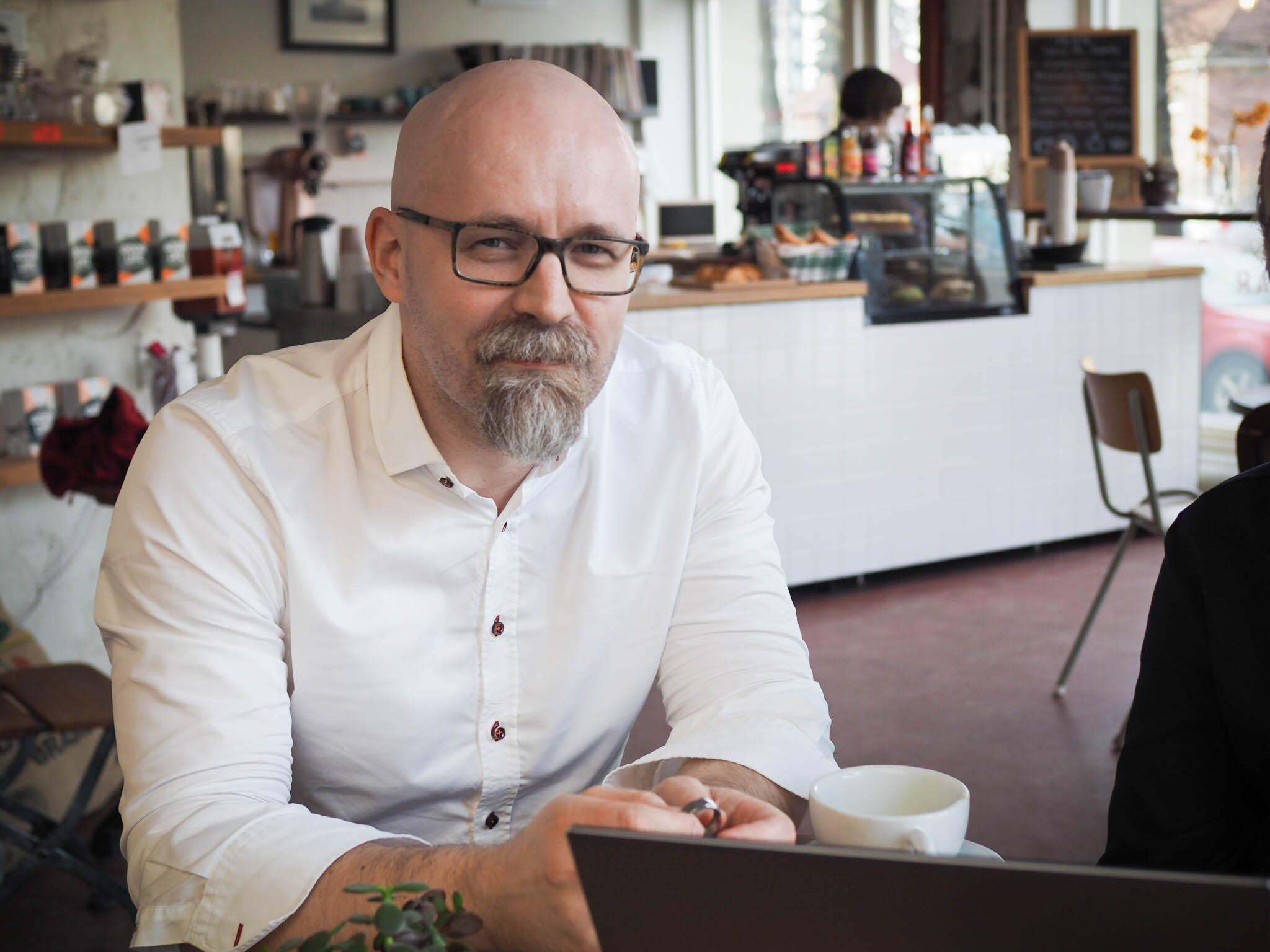 Oura designer Kari Kivelä