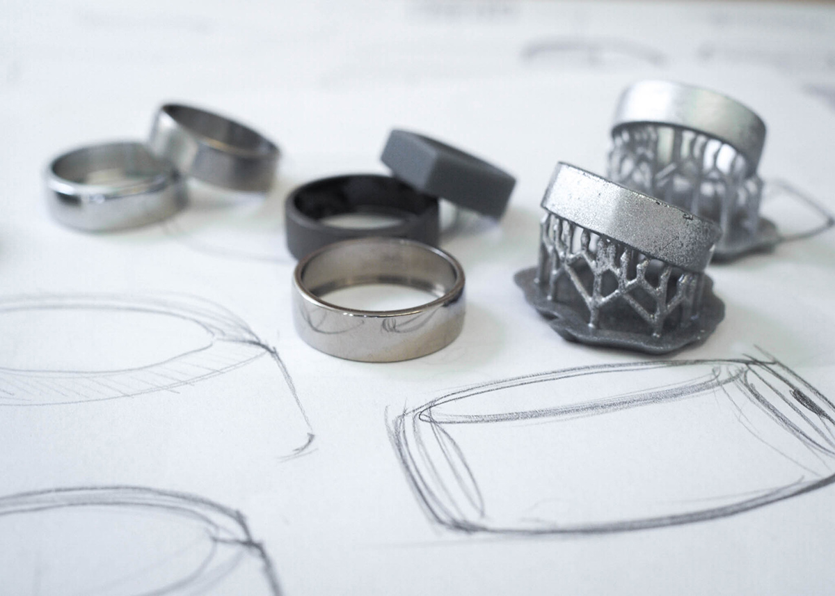 Oura ring sketches