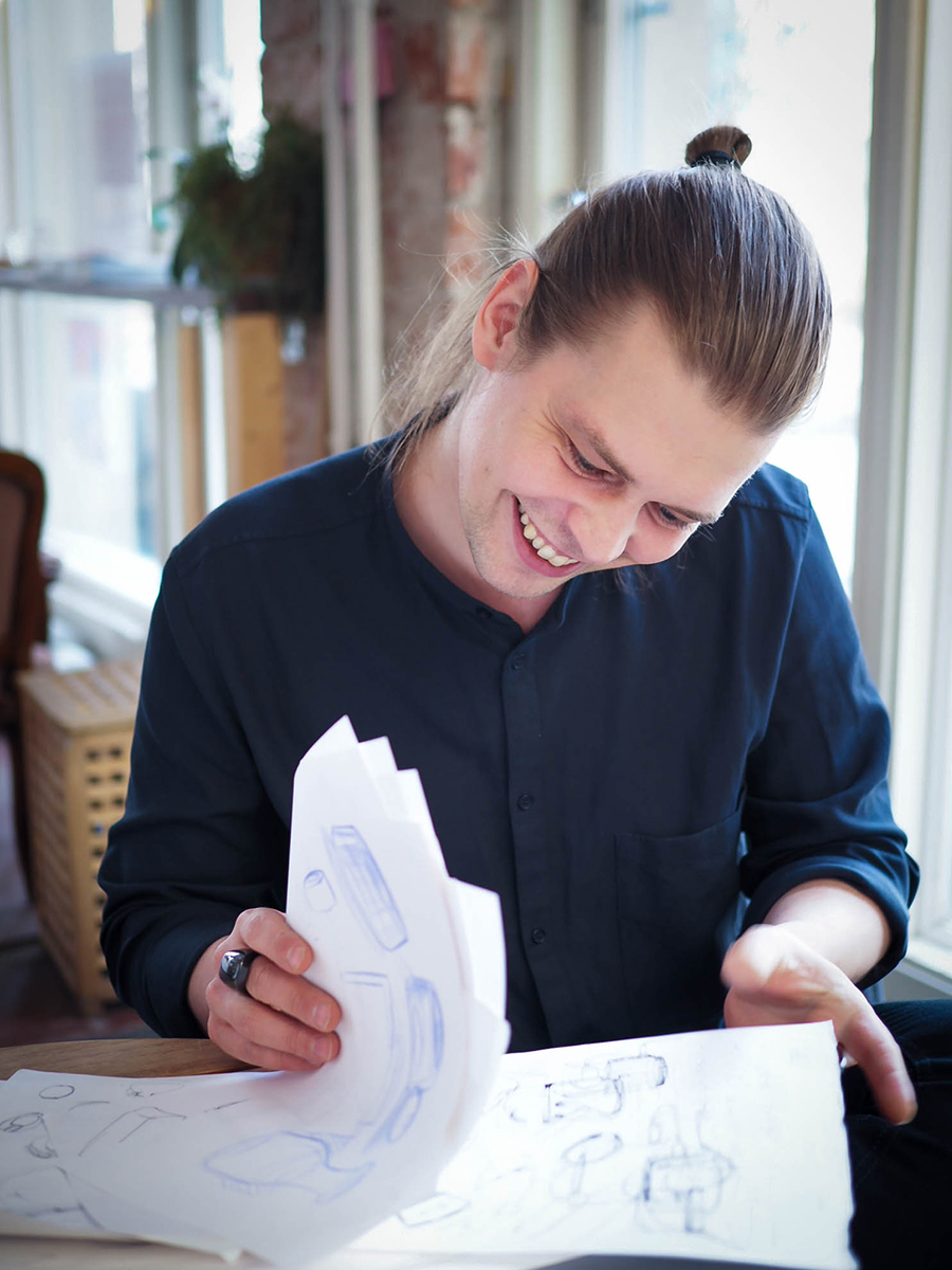Oura designer Mikko Latomäki