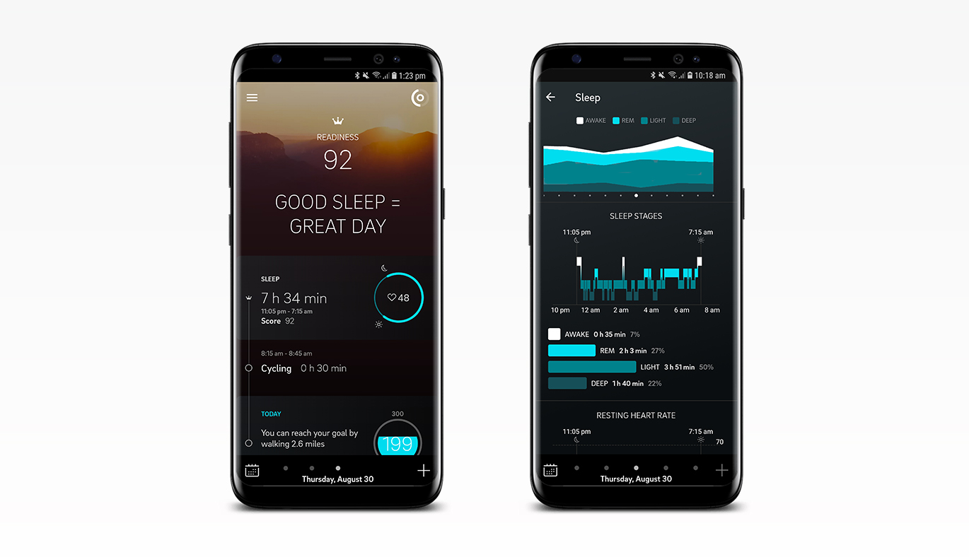 The Redesigned Oura App for Android Available on Google Play